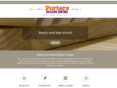 Porters site image